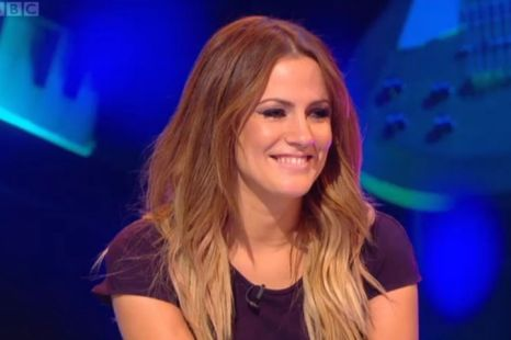 Caroline Flack won't spill on her new romance (Screengrab)