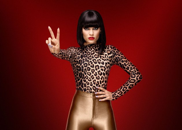 Jessie J on The Voice (BBC)