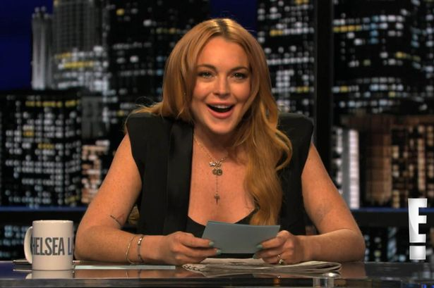 Lindsay Lohan on Chelsea Lately (E!)