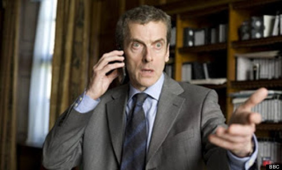Peter Capaldi is the 12th Doctor Who (screengrab)