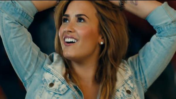Demi Lovato has a book on the horizon! (Music video still)