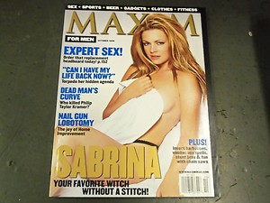 Melissa Joan Hart covered Maxim (Twitter)