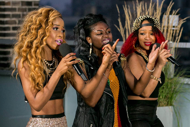 Miss Dynamix have been knocked out (ITV)