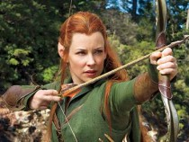 Evangeline Lilly in The Hobbit (PR Still)