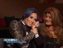 Demi Lovato opened up on Access Hollywood (YouTube