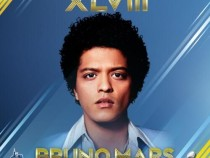 Bruno Mars performed at the Super Bowl (Twitter)
