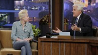 Miley chats to Leno about Bieber (Twitter)