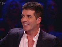 Simon Cowell on The X Factor (ITV)